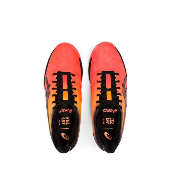 ASICS SOLUTION SPEED FF CLAY L.E. FLASH CORAL